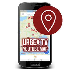 Urbex TV YouTube Map Licentie