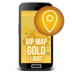 VIP Map GOLD LIGHT 2020-2021 Licentie (beperkte toegang)